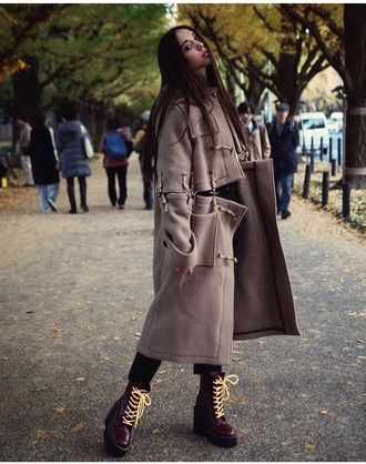 shoes alexis ren coat duffle coat duffle coats instagram