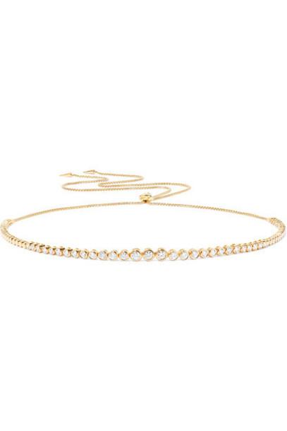 Jemma Wynne necklace diamond necklace gold jewels