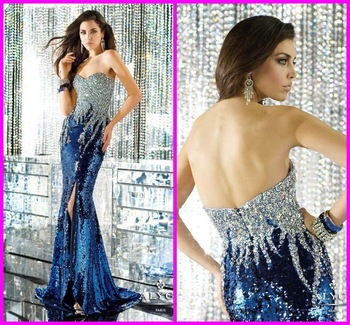Aliexpress.com : Buy Real pictures corset bodice mermaid scoop beaded cap sleeve dreaming party gown backless chiffon sexy royal blue evening dresses from Reliable dress ball gown suppliers on No.1 SuZhou Evening& wedding dress store8