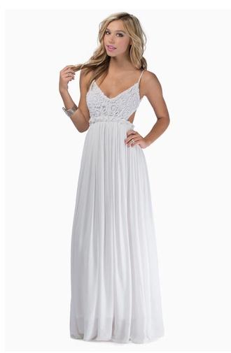 dress white dress prom dress maxi dress