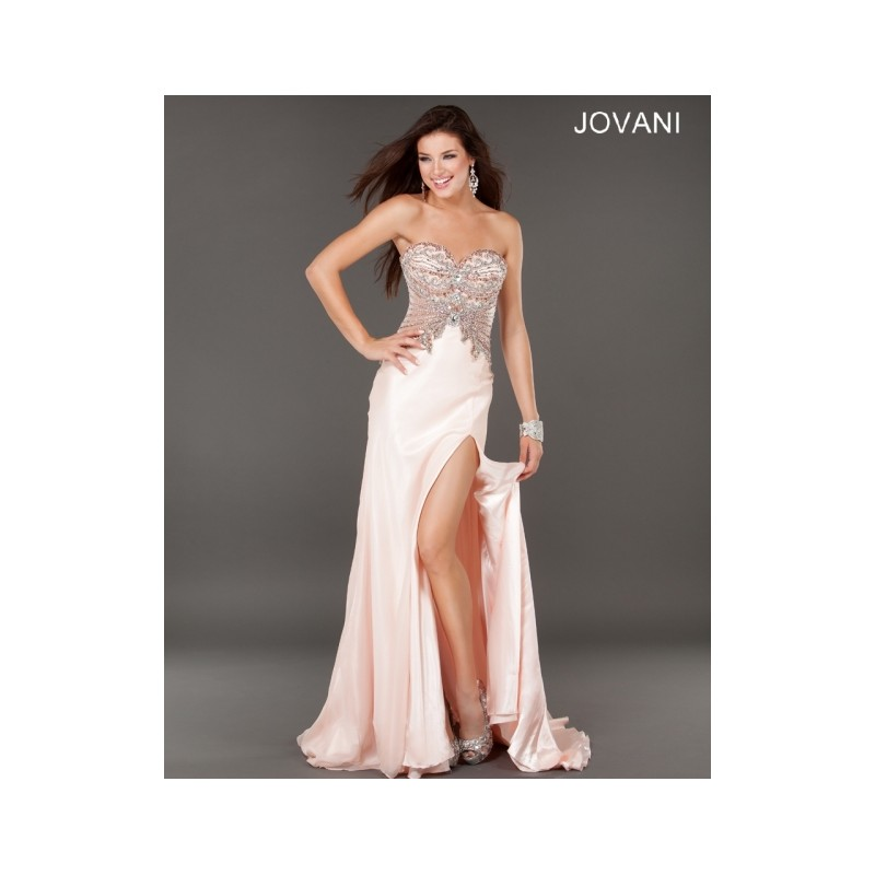 Classical Affordable Cheap New Style Jovani Prom Dresses  1932 Blush New Arrival - Bonny Evening Dresses Online