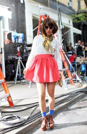 pink skirt skirt