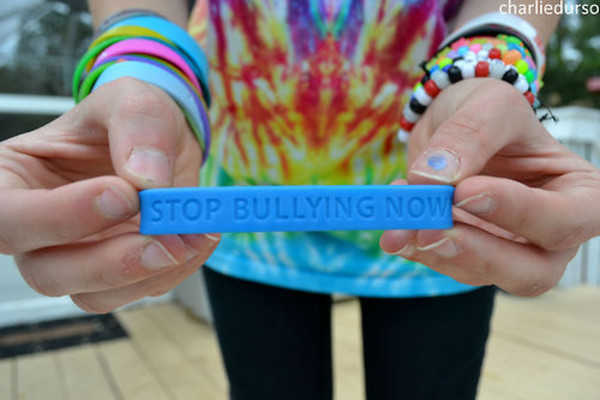 wristband link l wristbands bully awareness speak stand bracelet stop up bullying rubber