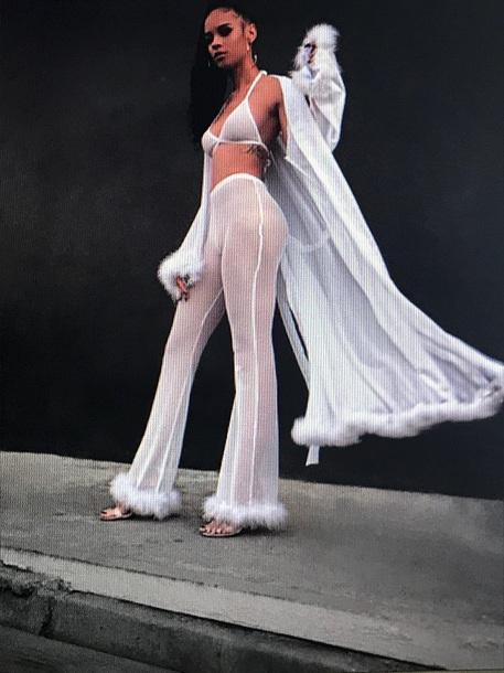 pants lingerie set