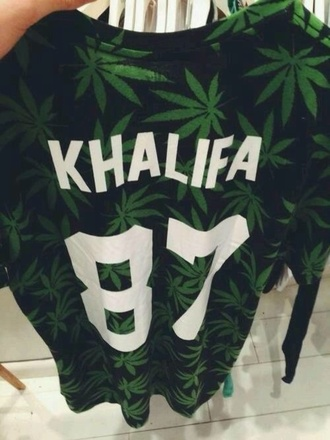 shirt t-shirt green and black black and green green black wiz khalifa wiz black t-shirt green t-shirt 87 white