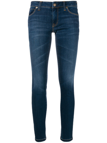 Burberry jeans skinny jeans women spandex cotton blue