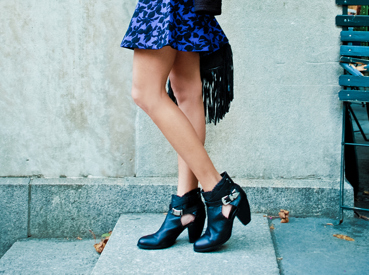 The Marcy Stop: Blue Baroque