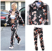 jacket,adidas originals,adidas tracksuit clothes top pants,adidas jacket,adidas tracksuit bottom,adidas pants,rita ora,sweatshirt,mcm backpack