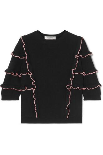 sweater cotton black