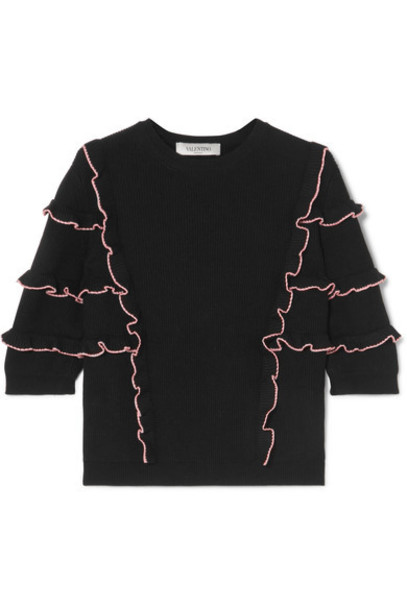 Valentino sweater cotton black