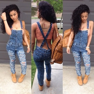 jeans denim overalls overalls india westbrooks acid wash jeans tank top jumpsuit