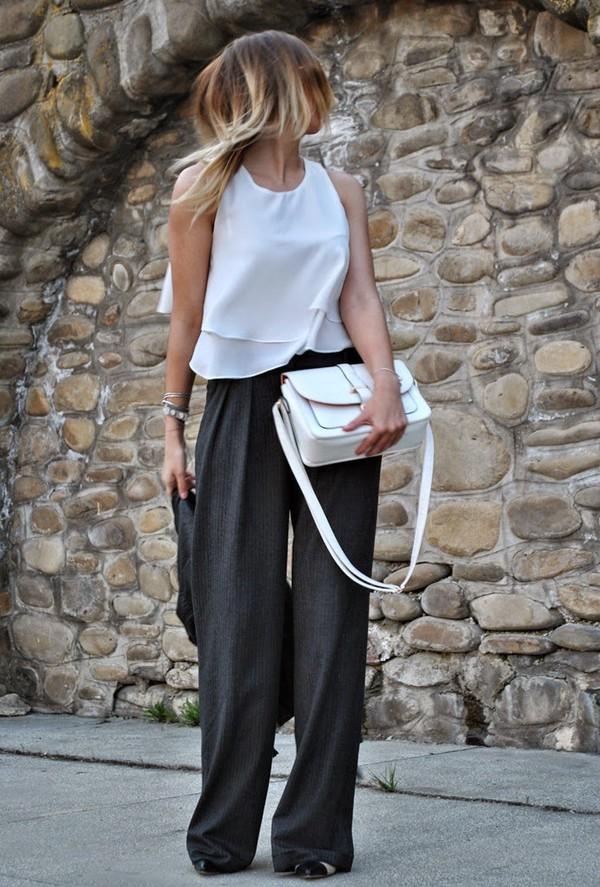 Women Khaki Camel Tan Pants Wide Leg Tan Dress Pants Palazzo Pants