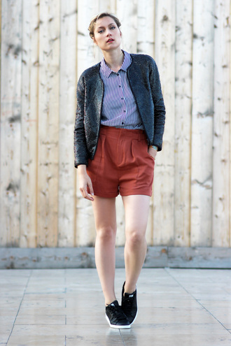 le blog d'artlex blogger shorts red shorts preppy hipster