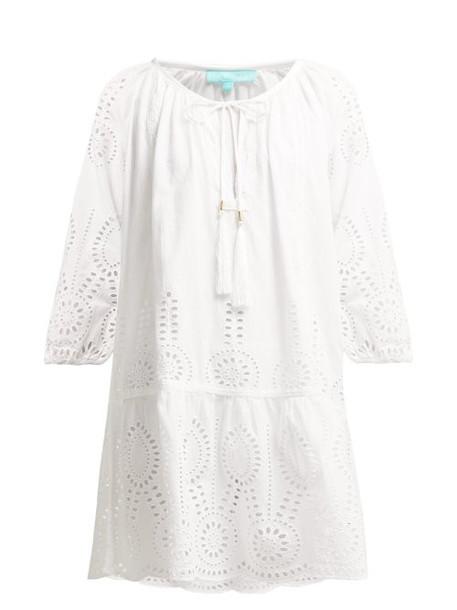 Melissa Odabash - Ashley Broderie Anglaise Dress - Womens - White