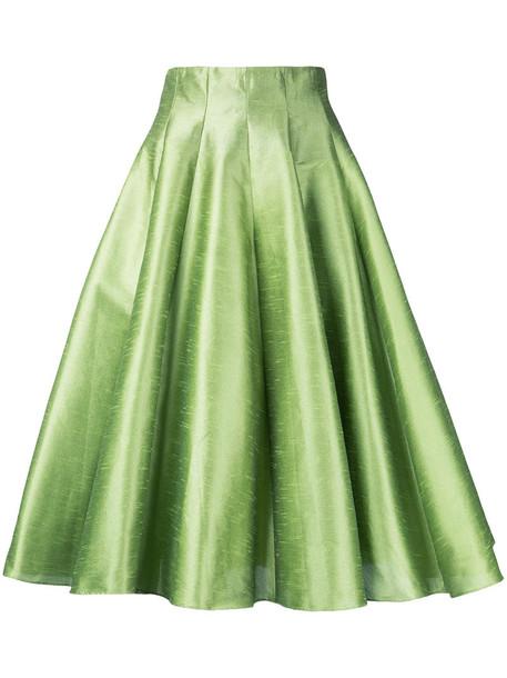 Bambah skirt midi skirt women midi green