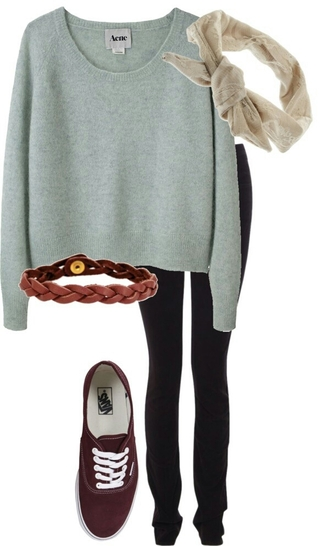 sweater crop tops loose fit sweater mint long sleeves acne studios