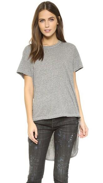 grey heather grey top