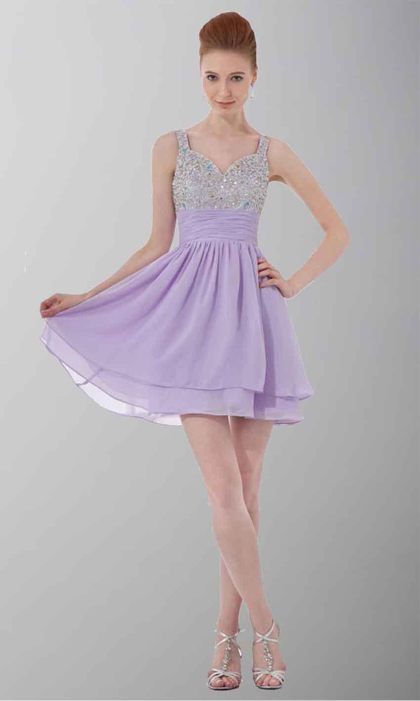 Cheap Purple Cocktail Dresses Uk 9