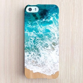 phone cover iphone sea waves iphone case