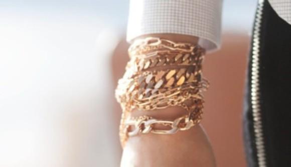 jewels bracelets chain bracelets gold jewlery gold