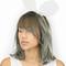 Cream bunny ear headband