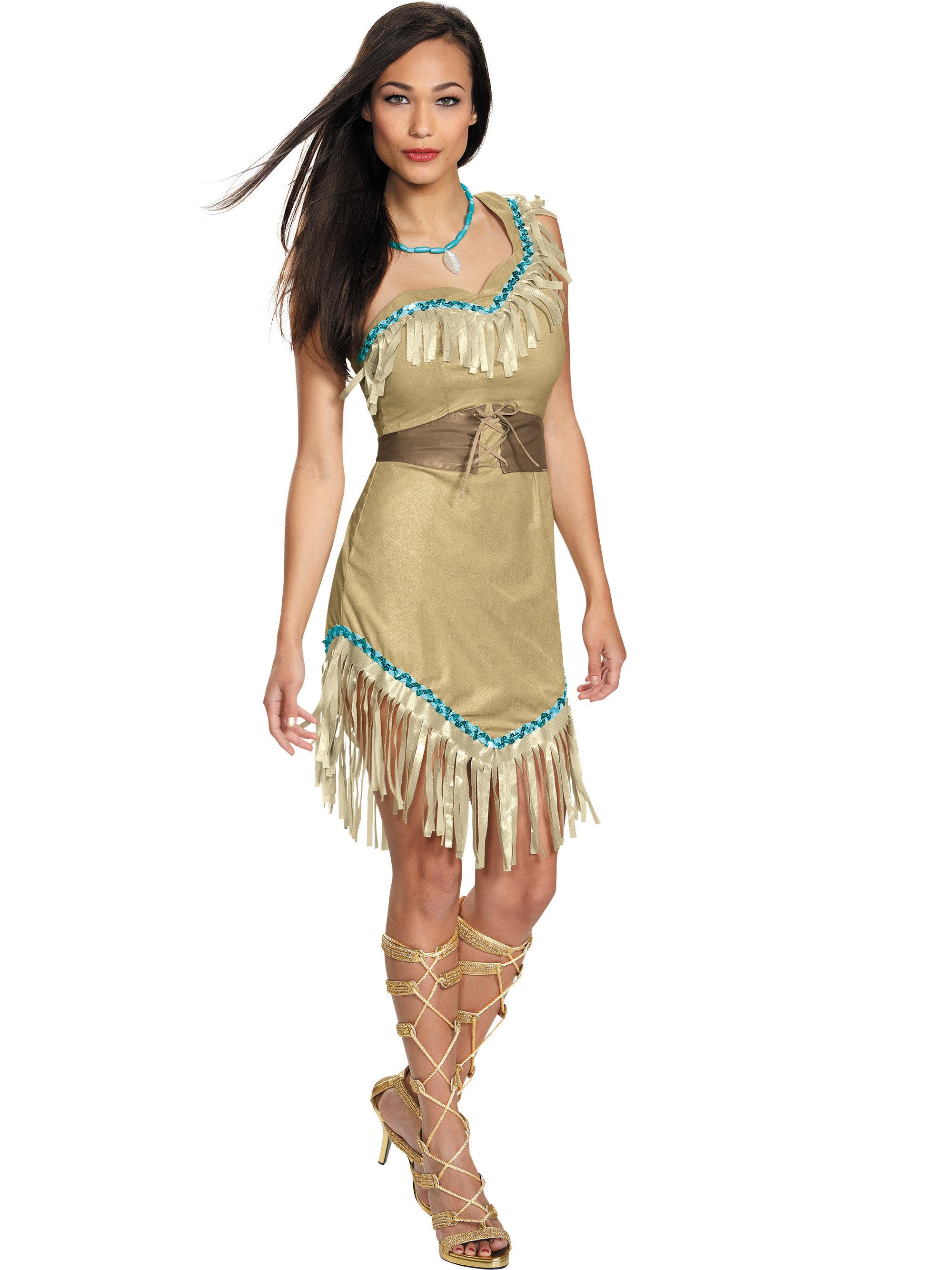 Women's Pocahontas Deluxe Disney Costume