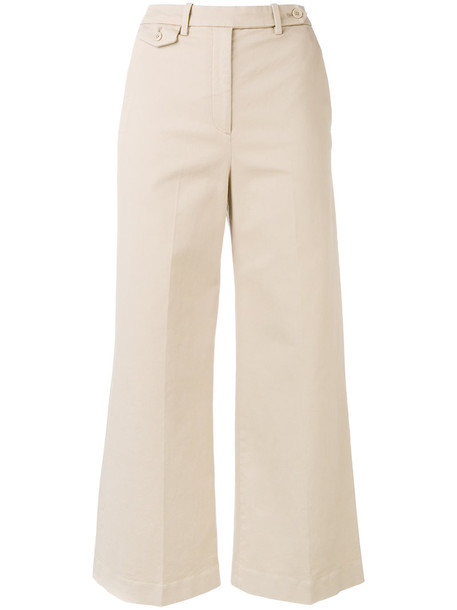 cropped women spandex nude cotton pants