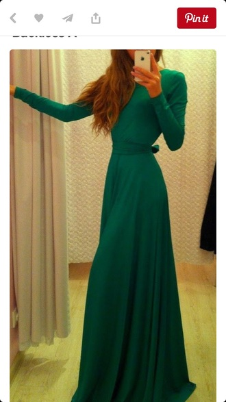 dress maxi dress long dress long sleeves
