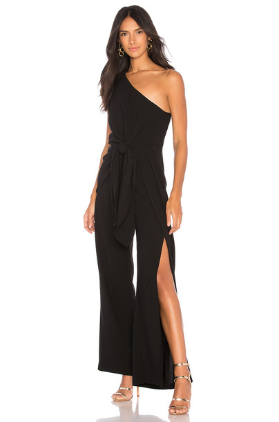 Bardot jumpsuit black