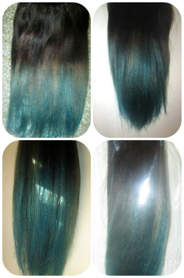Reverse Ombre Balayage Human Halo Hair Extensions Flip In Wire