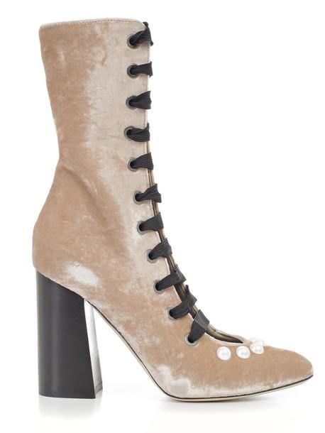 Blugirl nude shoes