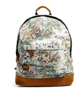 Mi-Pac | Mi Pac Backpack in Rose Tapestry at ASOS