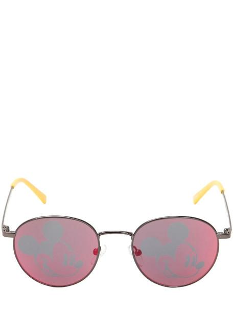 metal disney sunglasses red