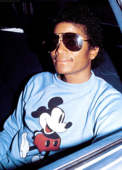 mickey mouse mickey mouse sweater michael jackson