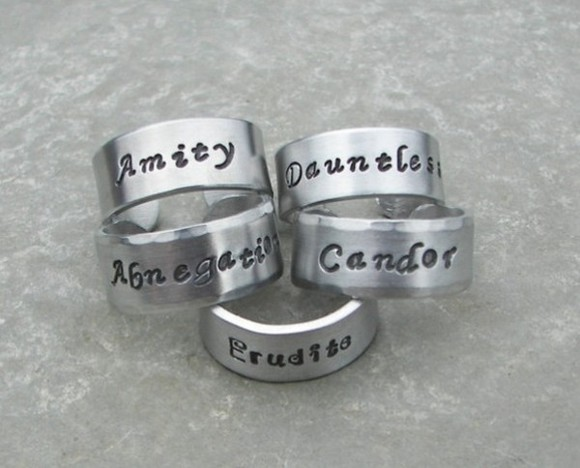 cool jewels divergent rings pleaseeee needtohave inlove inlovewithit factions.