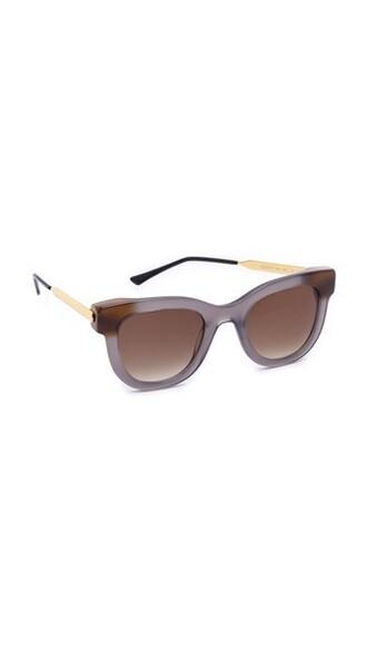 sunglasses brown grey