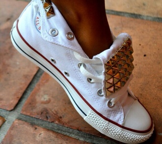 shoes stud chuck taylor all stars convers studded shoes converse converse shoes