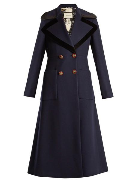 coat wool coat wool navy