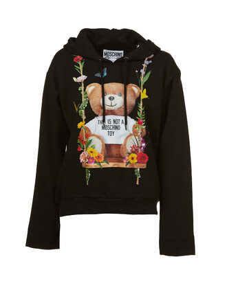 hoodie bear multicolor sweater