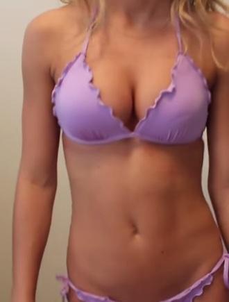 swimwear bikini ruffle brazilian bikini