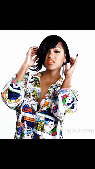 blouse comic marvel superman juhu black girls killin it pop art meagan good t-shirt graphic tee beanie lipstick trill gorgeous