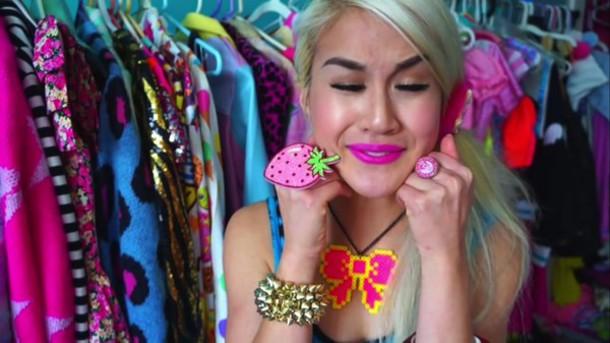 jewels kawaii neon style fashion
