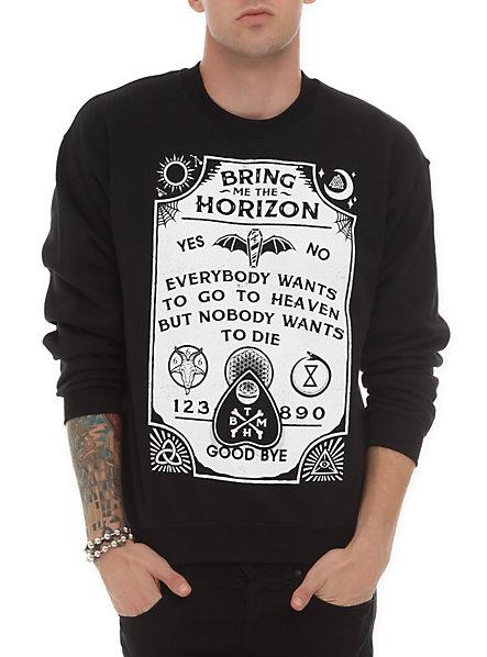 Bring Me The Horizon Ouija Crewneck Sweatshirt | Hot Topic