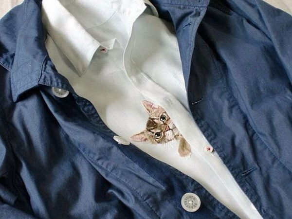 blouse indie cat blouse cats pockets indiehipster hipster