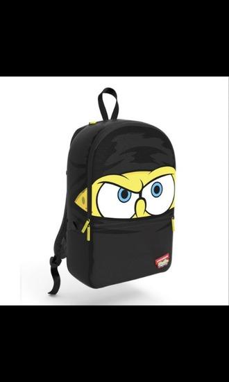 bag spongebob ninja backpack nickalodeon