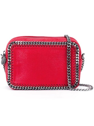 zip bag crossbody bag red
