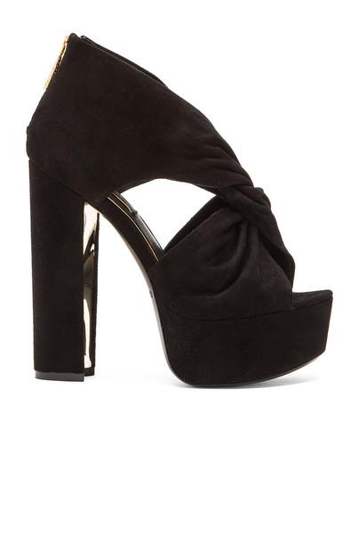 Rachel Zoe heel black