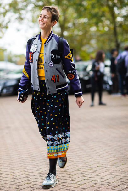 Jacket: fashion week street style, fashion week 2016, fashion week ...