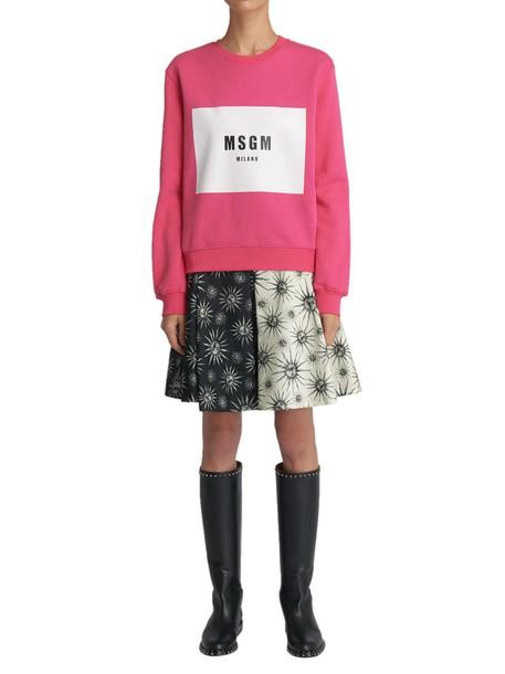 MSGM sweatshirt pink sweater