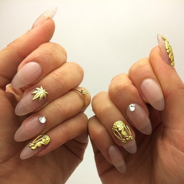 Bag Nail Accessories Nail Fashion Fashion Gold Jewelry Jewelry